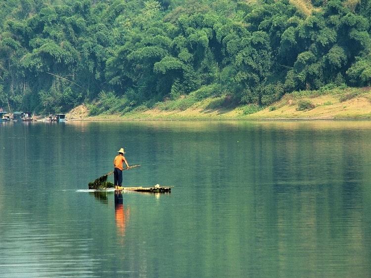 Rafting Yangshuo Li River