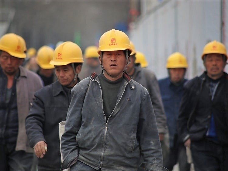 Migrant Chinese workers