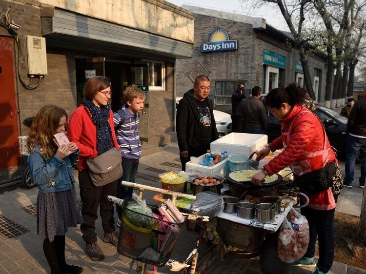 Jianbing Chinese street food