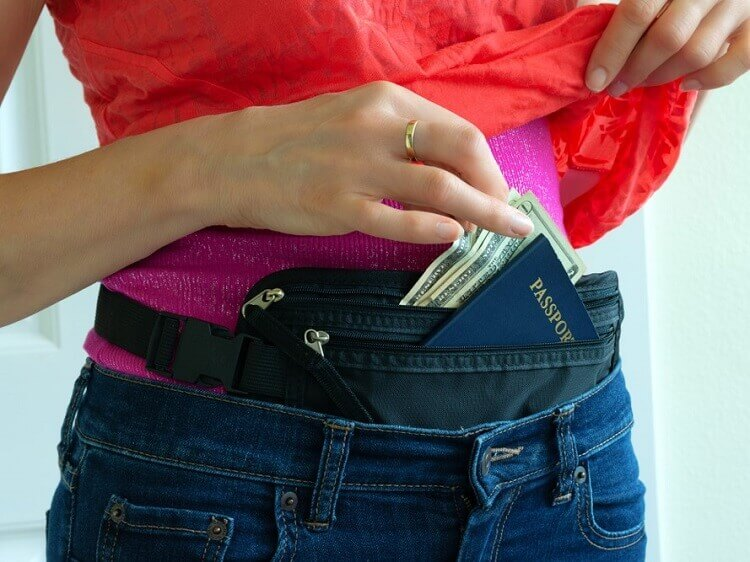 Don't bring a money belt to China
