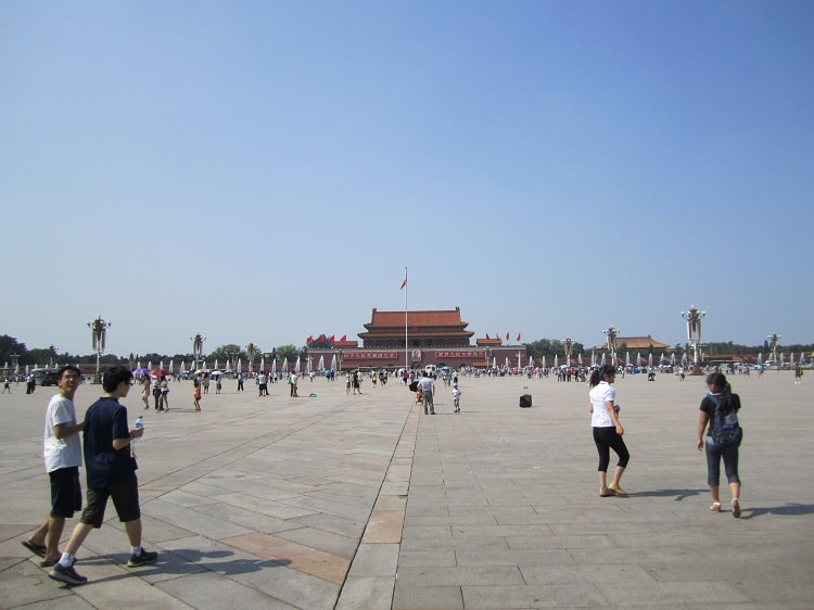 Tiananmen Square on a nice day
