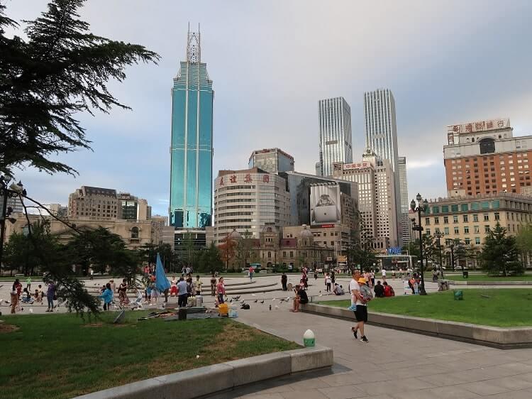 Dalian city square