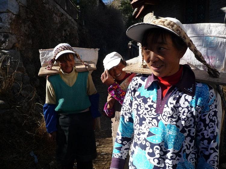 Ethnic minority women in China