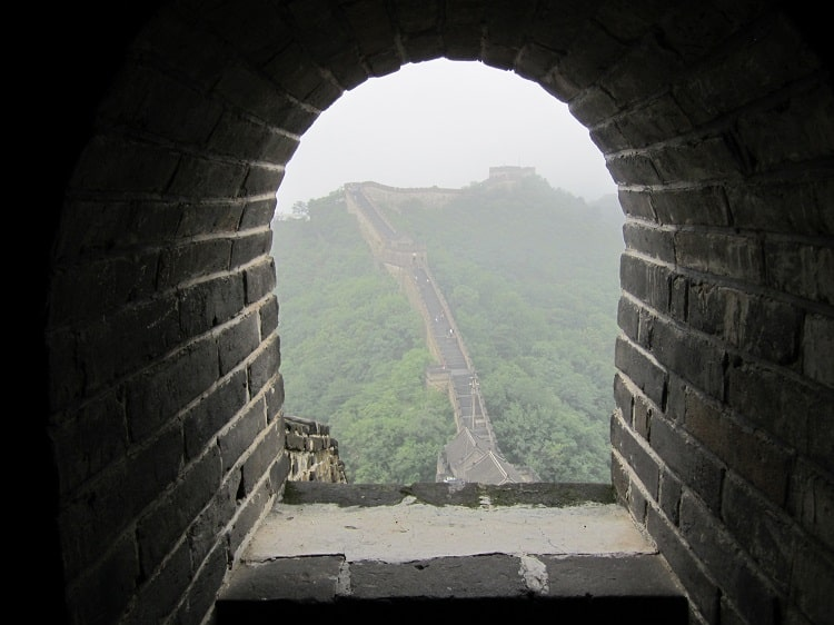 The Great Wall is the best place to visit in China
