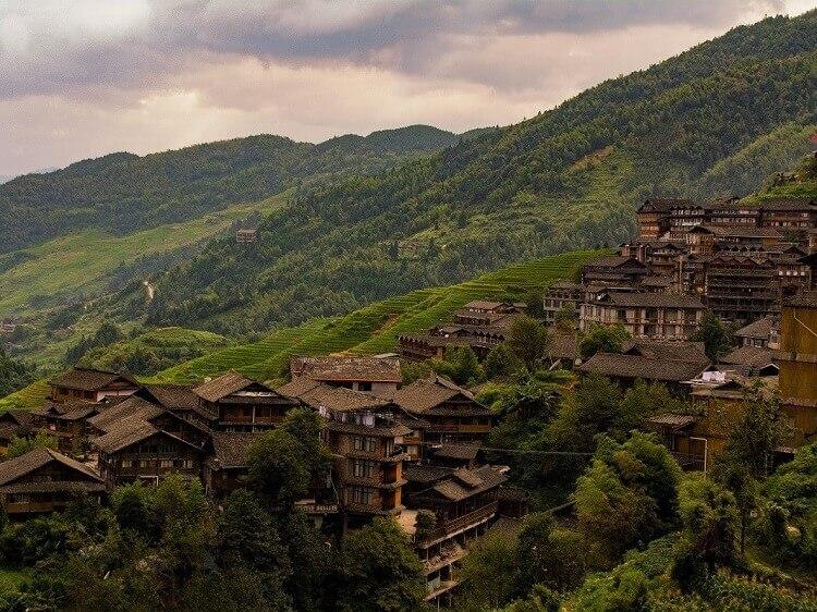 Longji near Viewpoint 2 Pingan