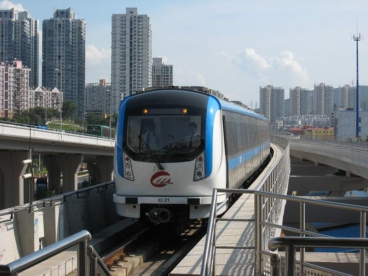 Shenzhen Metro train