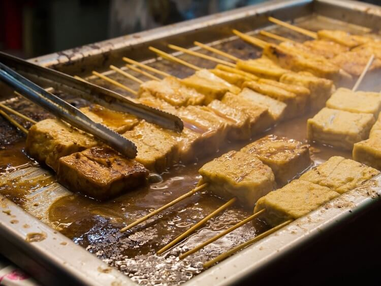 Stinky tofu China