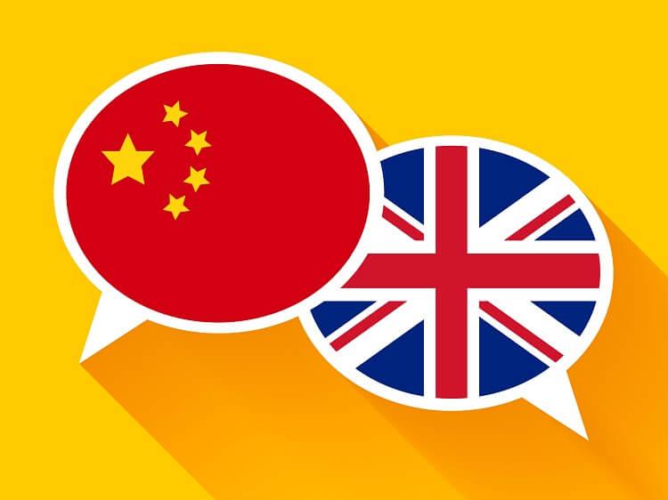 Chinese English communication