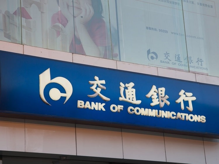 Bank of Communications China