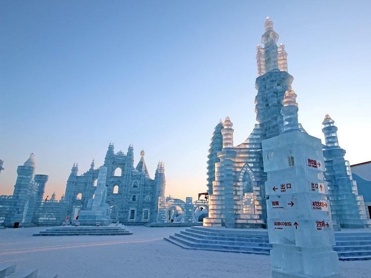 Ice Festival in Harbin Heilongjiang