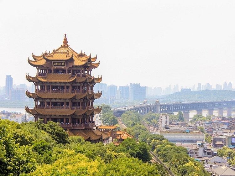 Yellow Crane Tower Wuhan Hubei