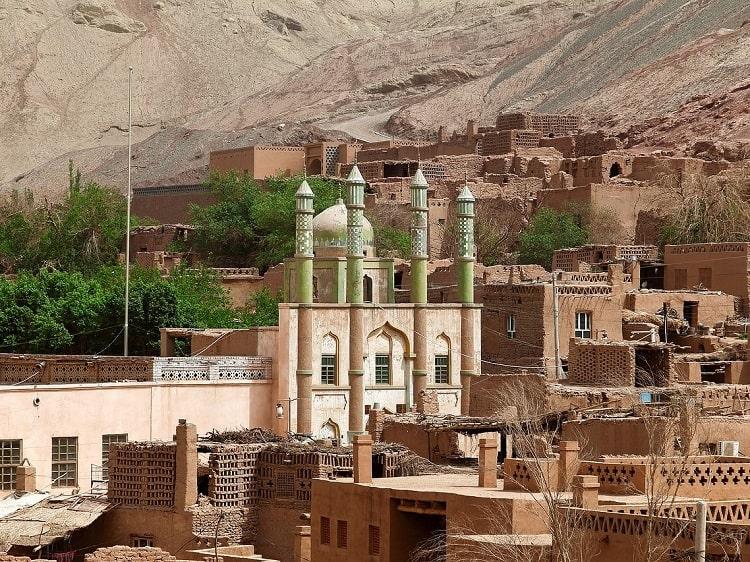 Mosque Xinjiang China