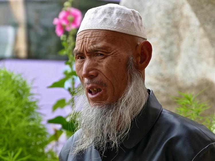 Qinghai Muslim man