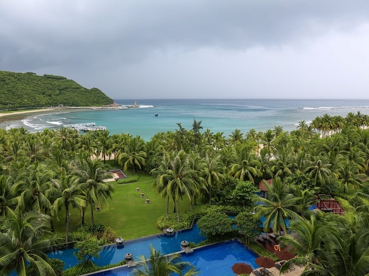 Resort in Sanya Hainan one of China's smallest provinces