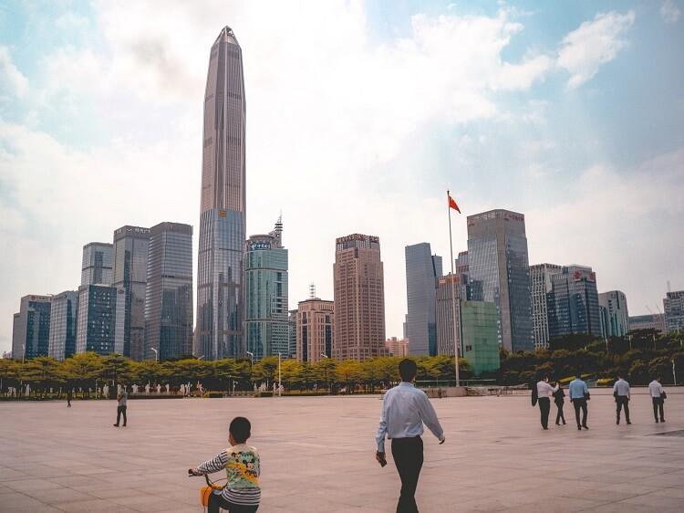 Shenzhen in Guangdong province