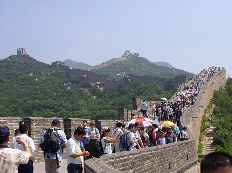 Busy Great Wall