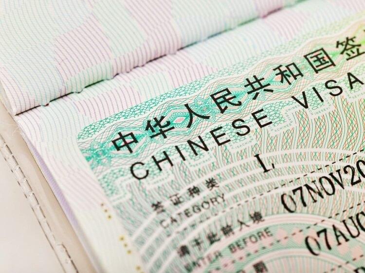 L visa for China