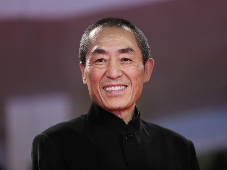 Famous Chinese film director Zhang Yimou