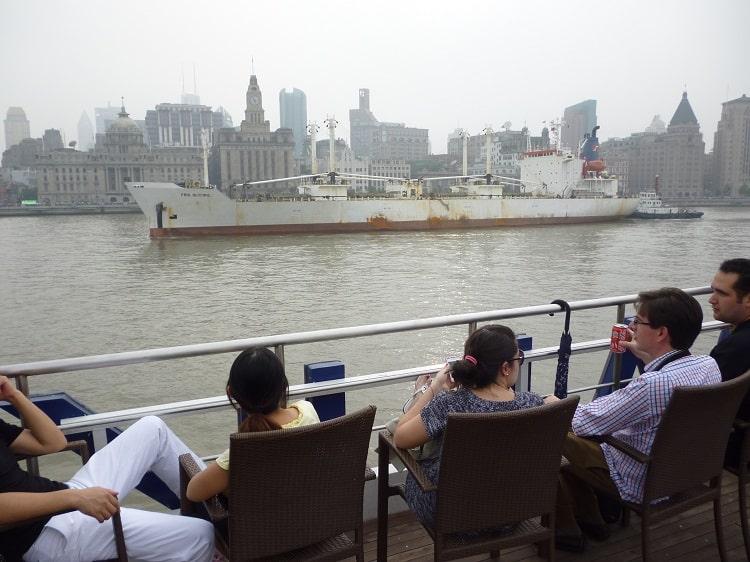 Shanghai river cruise