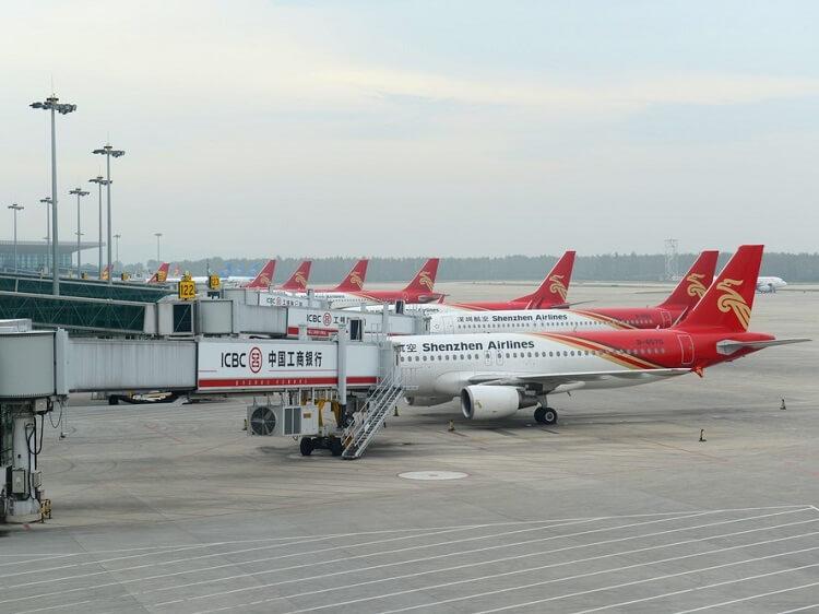 Shenzhen Airlines fleet