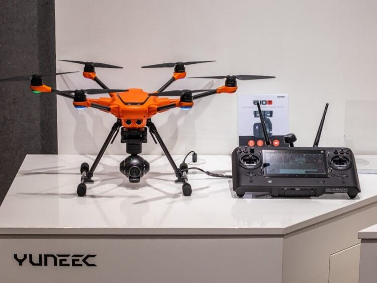 Yuneec camera drone
