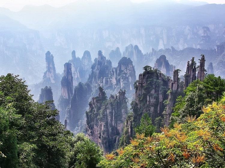 When planning a trip to China consider Zhangjiajie