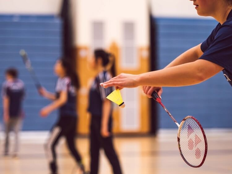 Badminton is one of the national sports in China
