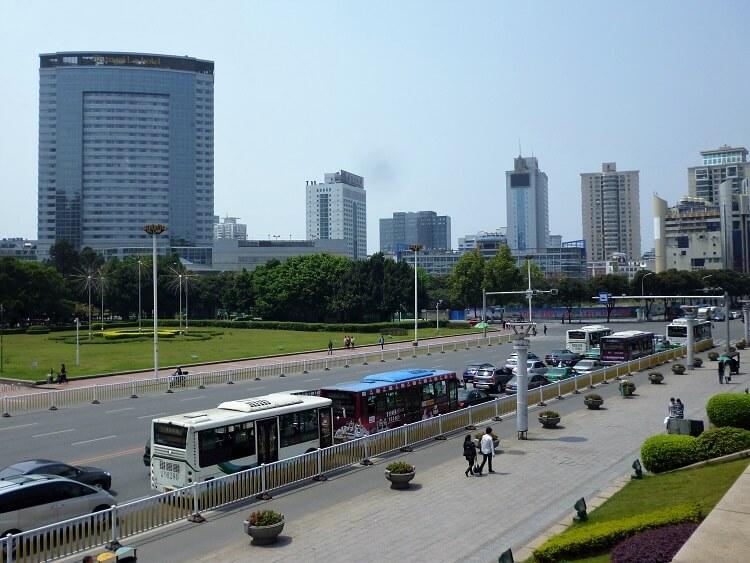 Downtown Fuzhou