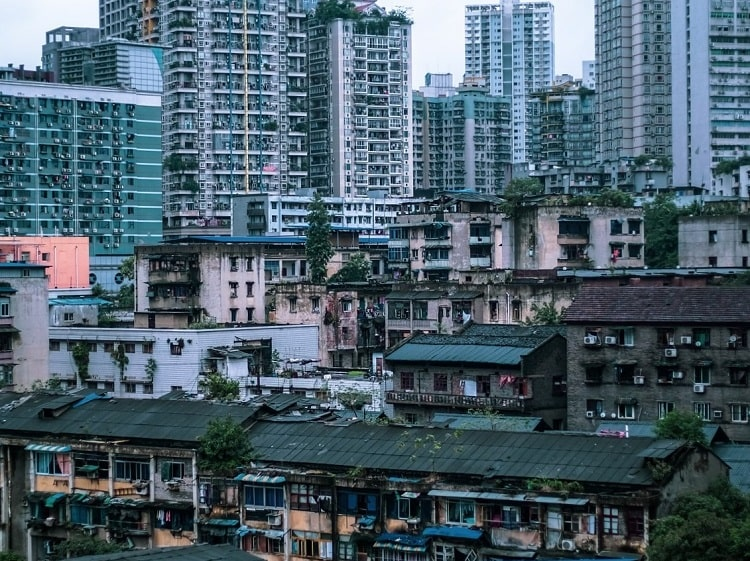 Old and new Chongqing