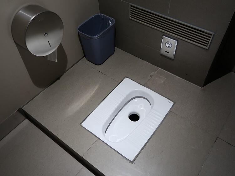 Guangzhou Airport toilet