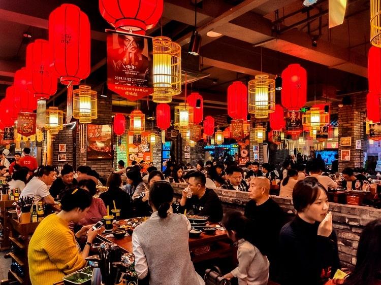 Hotpot restaurant Chongqing