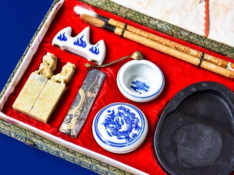 Chinese calligraphy set