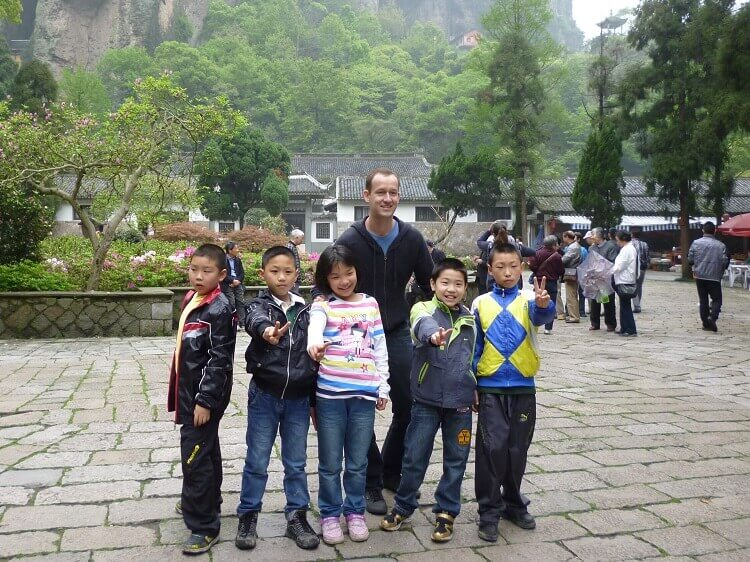 Teaching young students China