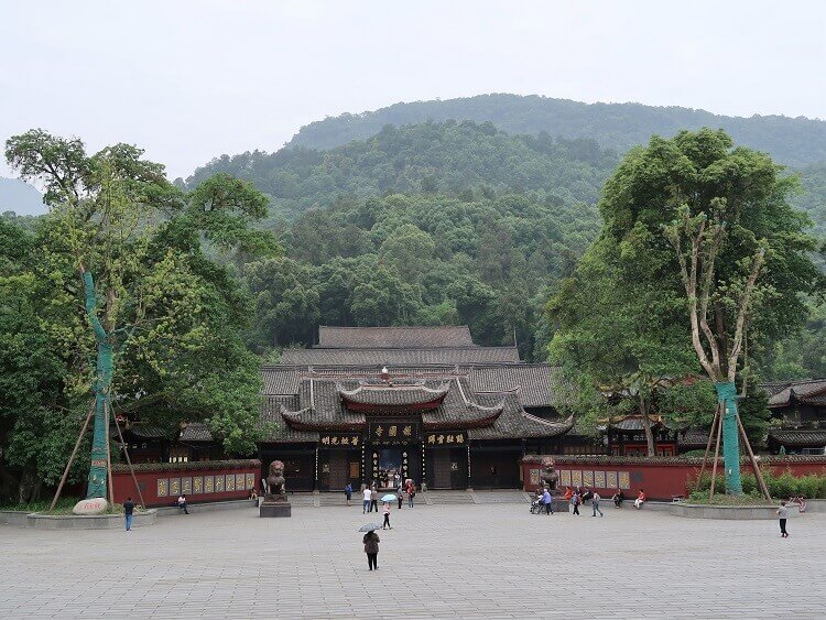 Temple at Mount Emei
