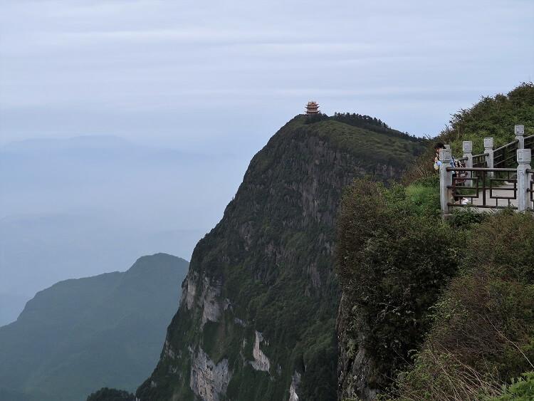 Top of Mount Emei China
