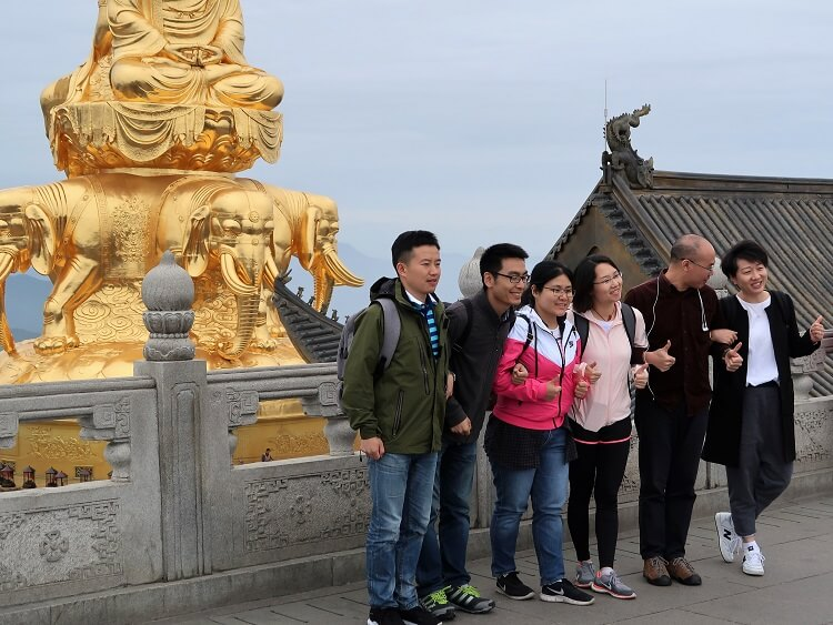 a group in China